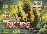 Original 'The Day of the Triffids'<br/> vintage film poster